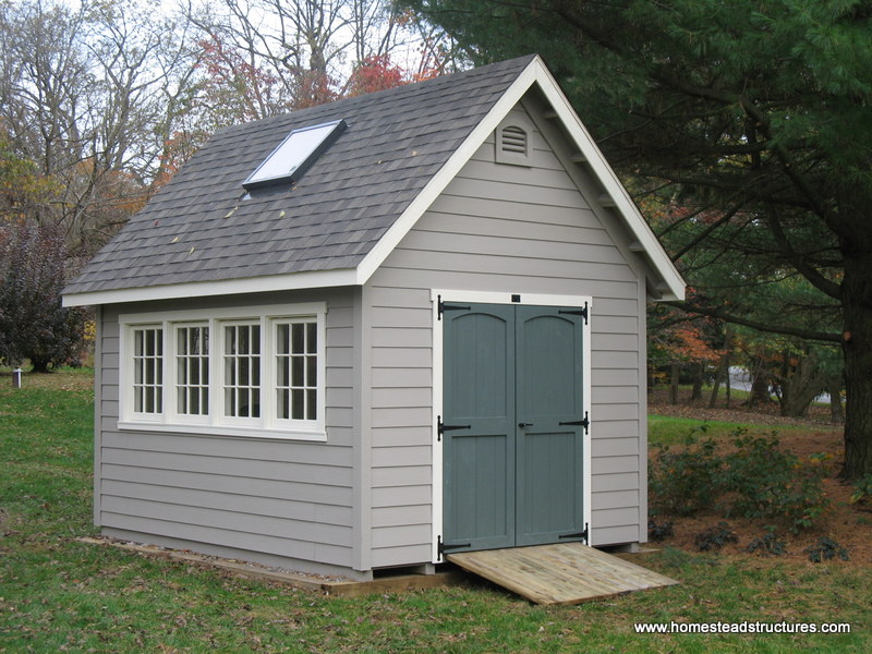 10 X 16 Liberty A Frame Shed Hardie Plank Siding