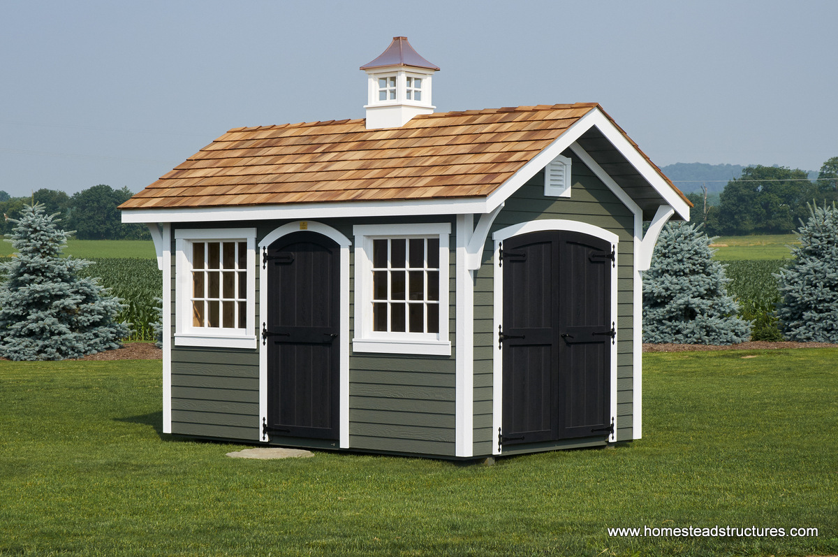 Premier Garden Sheds for Garden Storage | Homestead Structures