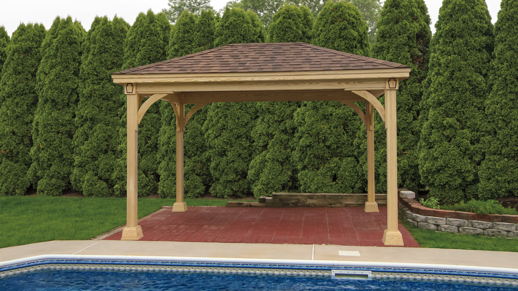 Keystone Wood Pavilion Wooden Pavilions For Sale