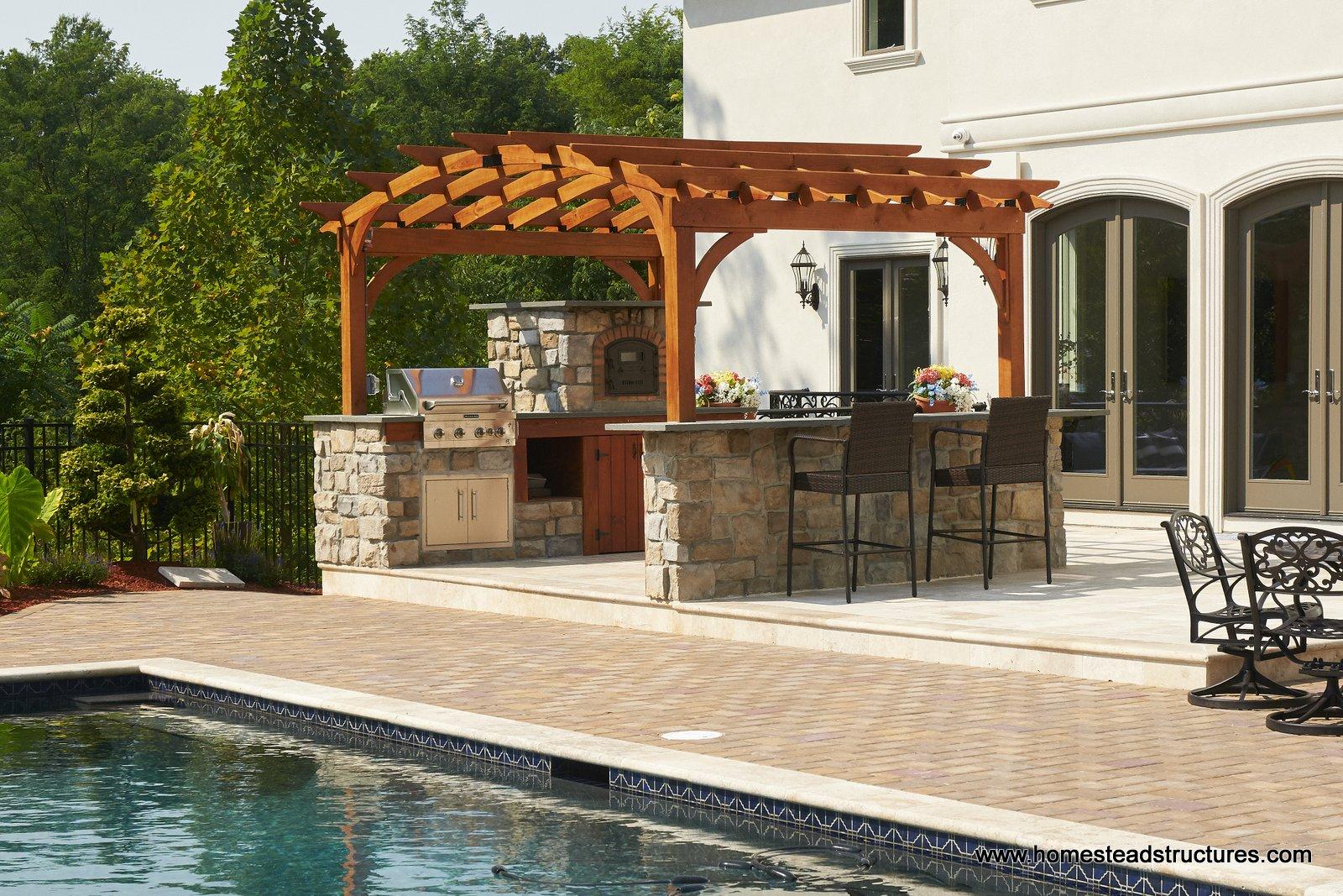 Excellent Custom Vinyl Wood Pergolas For Patio Garden Homestead Download Free Architecture Designs Scobabritishbridgeorg