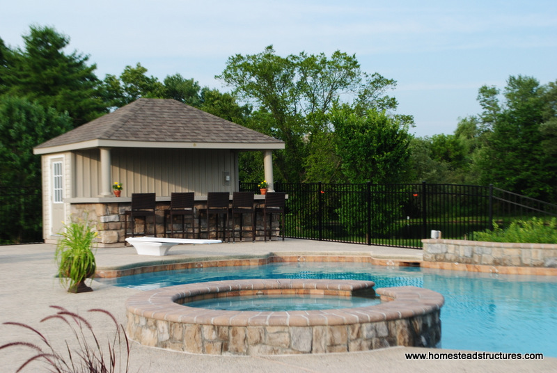 He shed she shed bar shed the rise of the custom hobby for Pool shed with bar plans