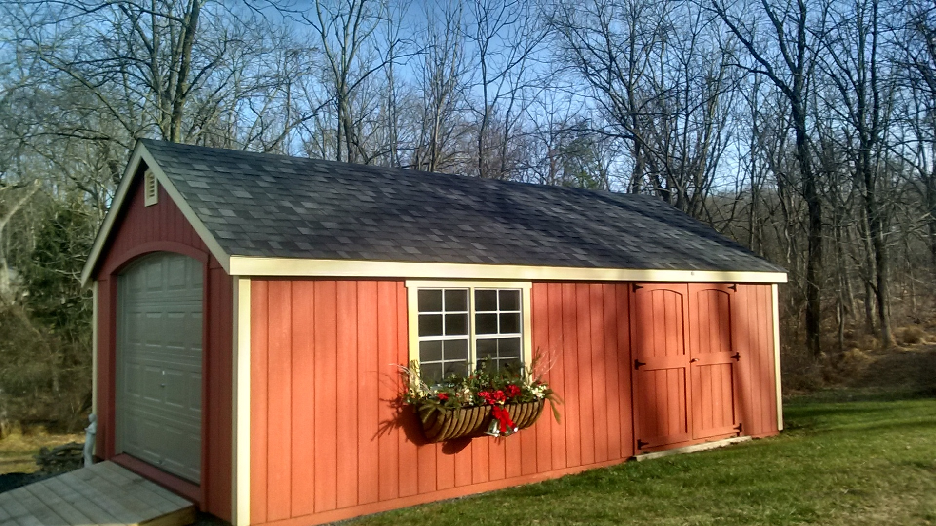 1 Car & Single Wide Garages - Amish-Built Garages