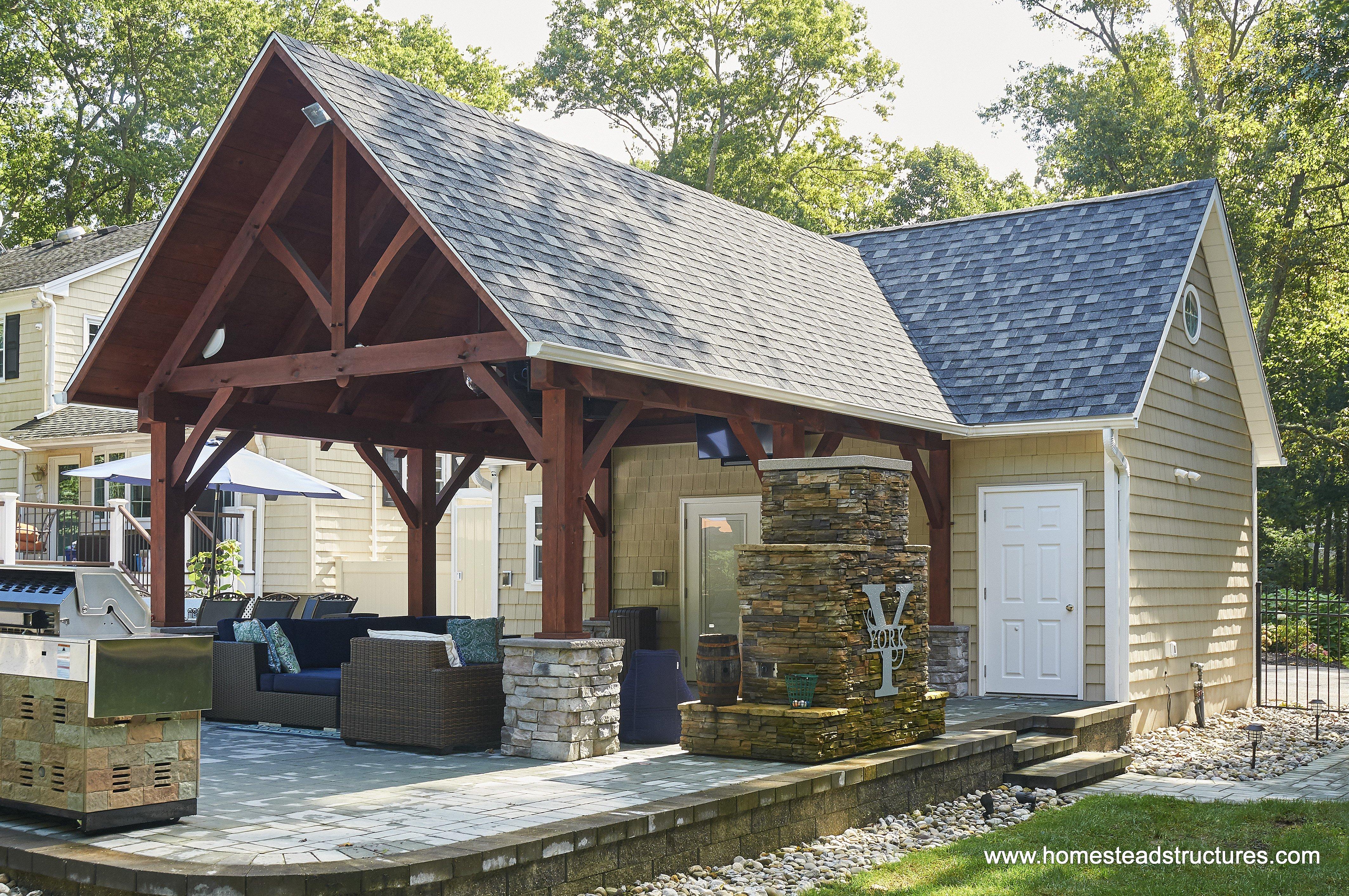 Custom Pool House Plans & Ideas - Pool Cabanas in New