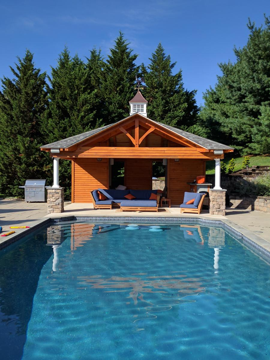 5 Signs You Should Invest in a Pool House or Pool Shed | Blog ...
