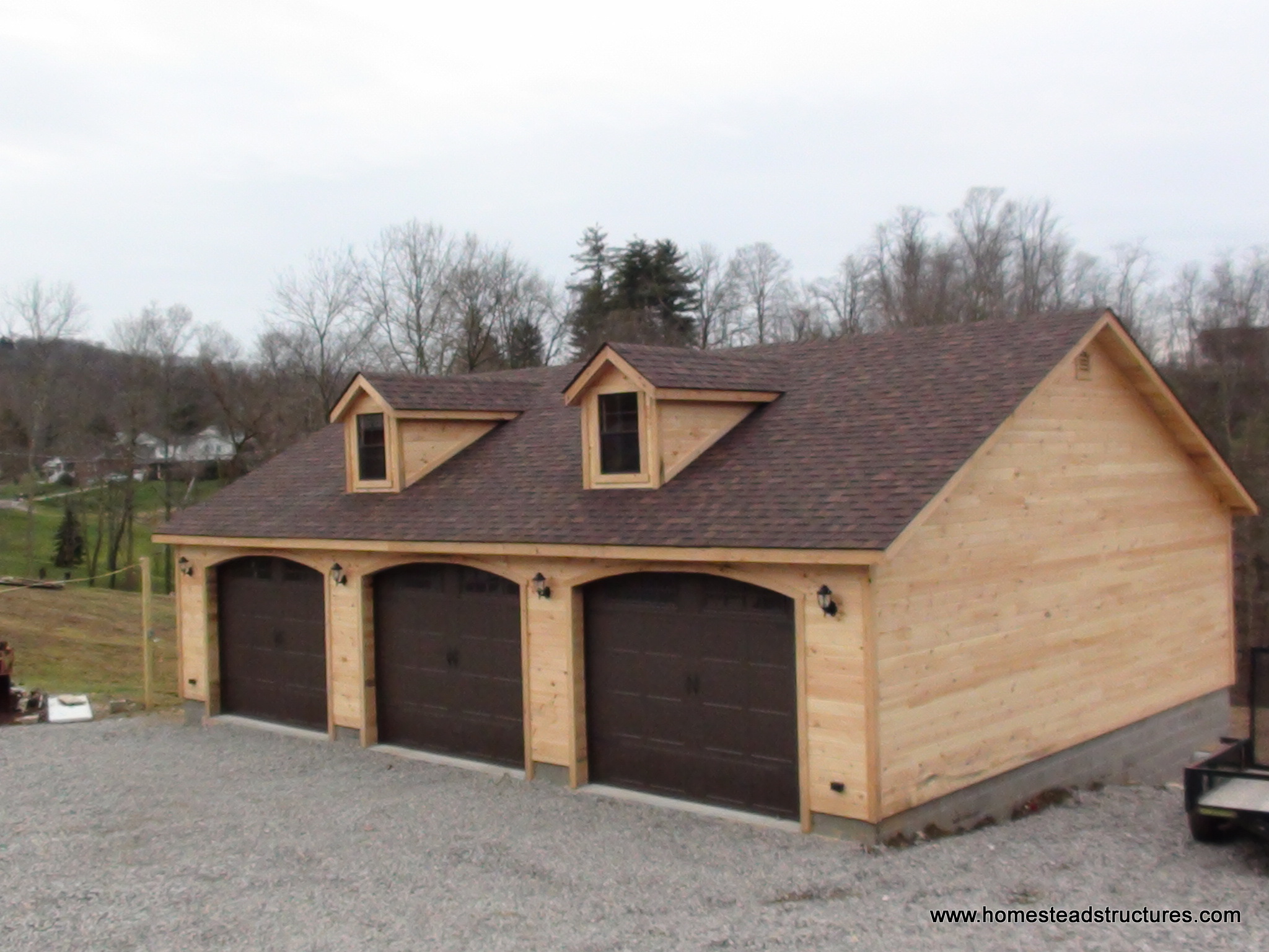 Custom garage homestead structures for Custom garage plans