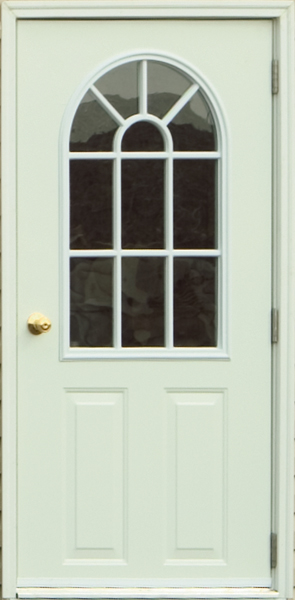 House Door with 11 Lite
