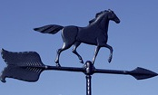 Black Horse Weathervane