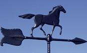 Black Horse Weathervane