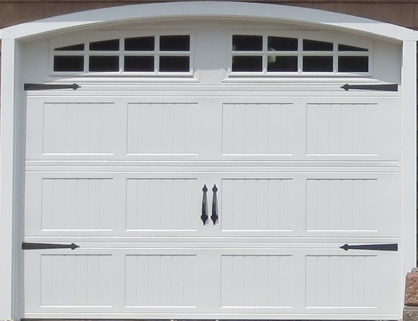 Carriage Style with Arched Opening