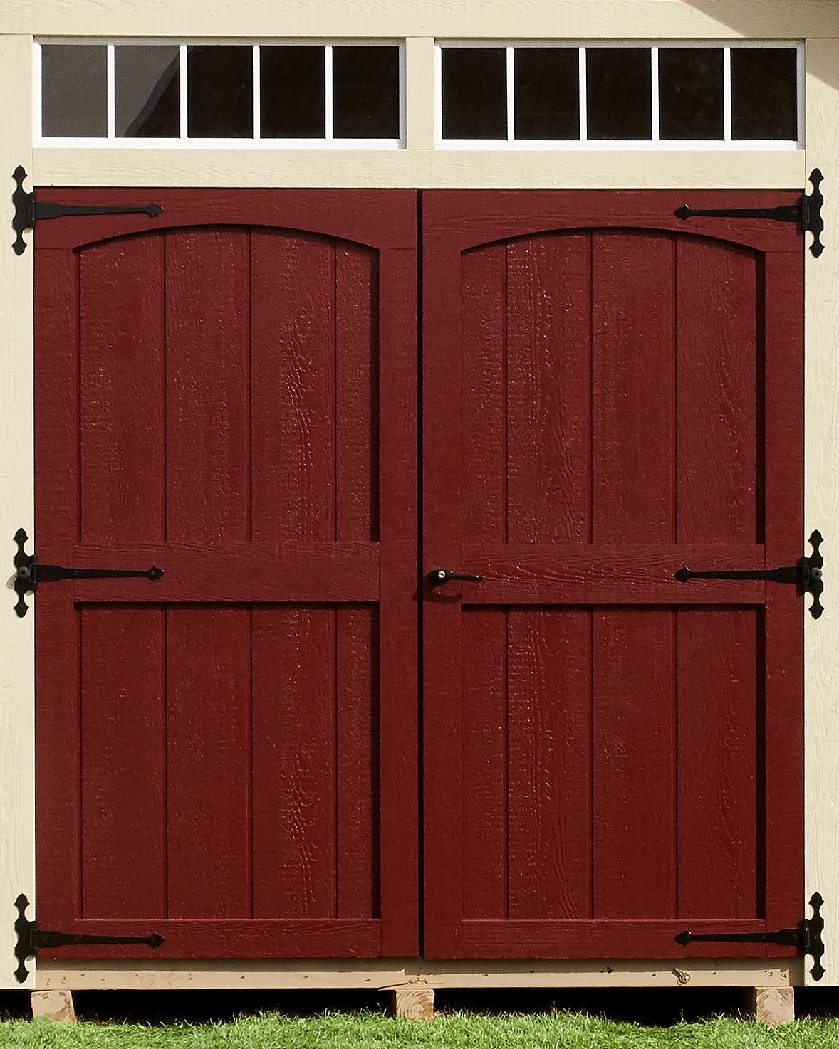 Classic Door with Transoms above Door