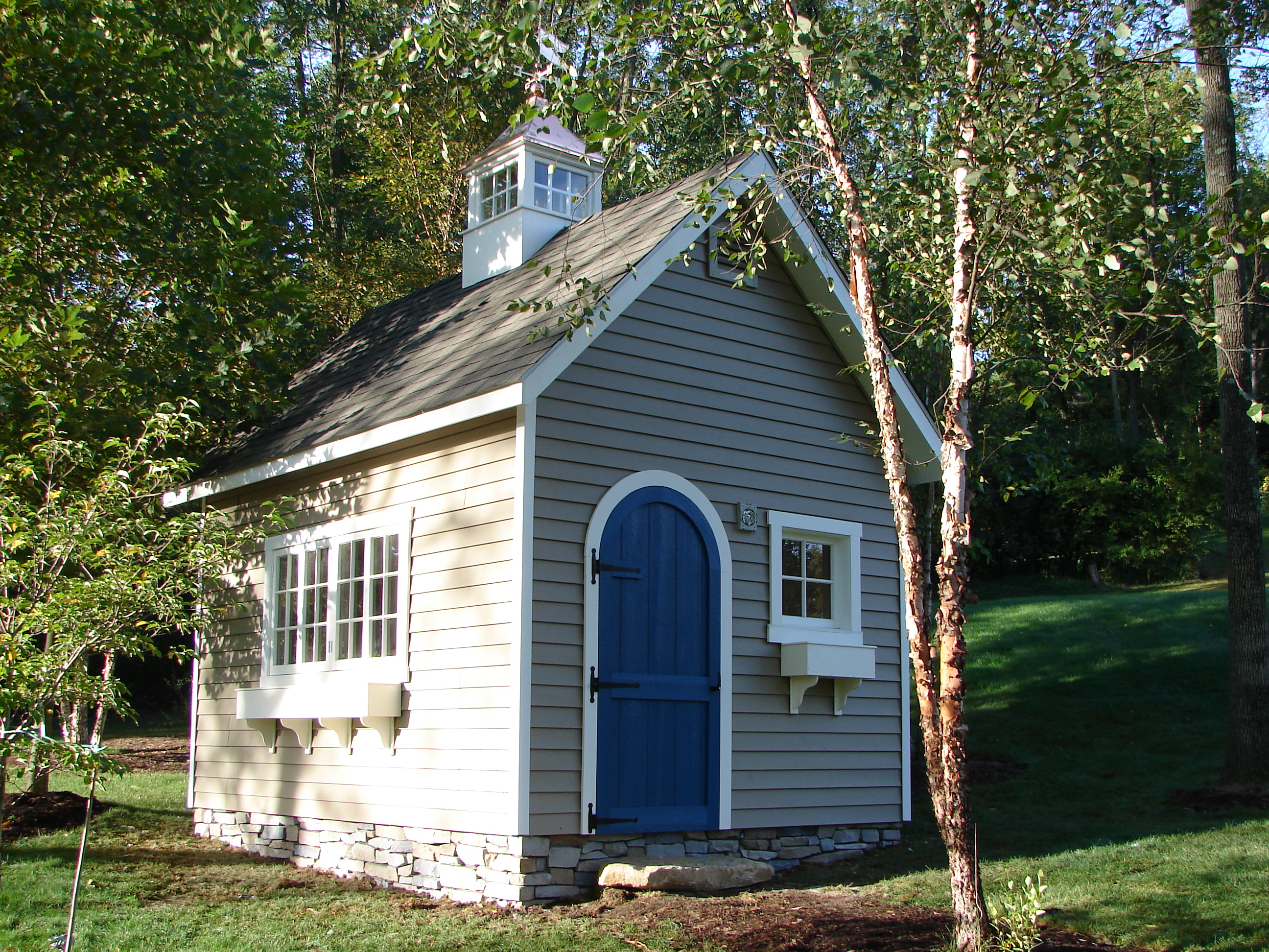 10x14 Liberty 2 Story A Frame Garden Shed