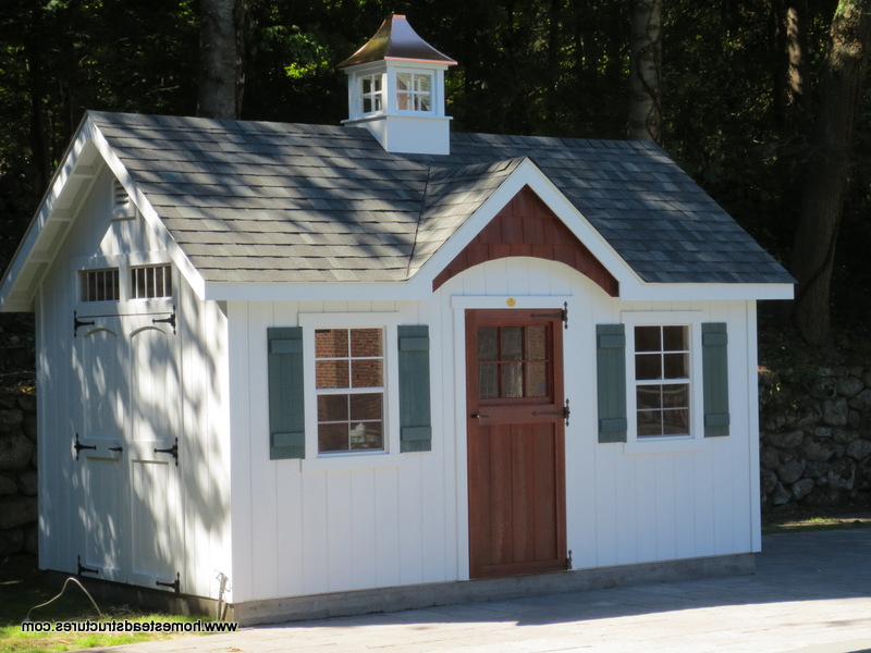 10u0027 x 16u0027 Classic A Frame Shed (D-Temp ... & Custom Storage Sheds for Sale in PA Garden Sheds Amish Sheds ...