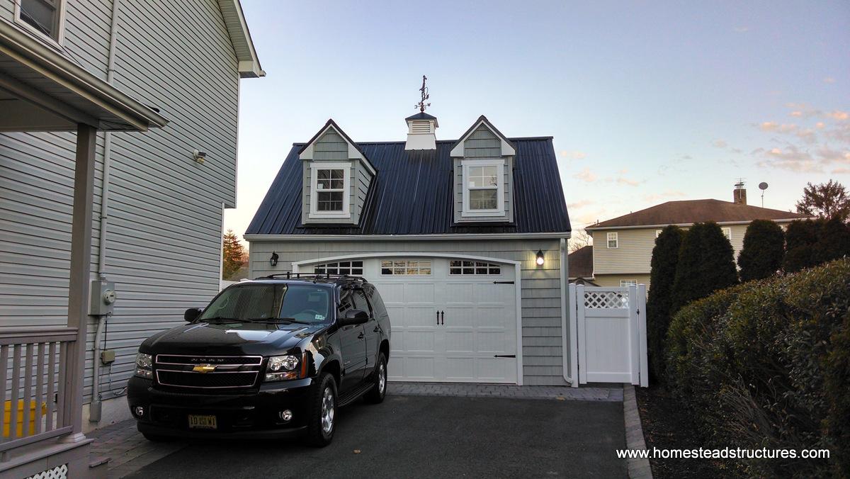 1 Car & Single Wide Garages | Homestead Structures
