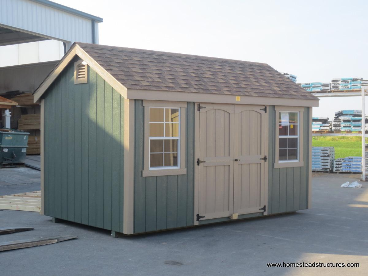 8' x 14' Laurel A Frame Shed