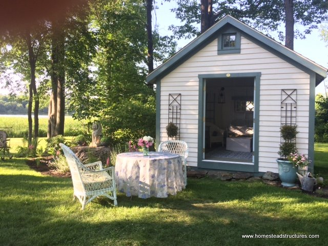 Rather That Tran Sform A Basement Or Garage Into Their Own Personal  Fortress Of Solitude, Many Men And Women Choose To Transform A Custom Backyard  Shed Into ...
