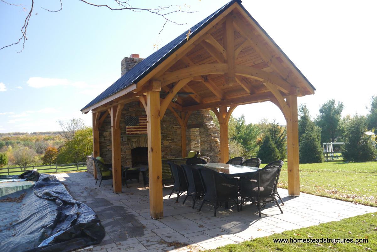 Wooden Pavilions Timber Frame Pavilions Homestead