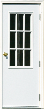 House Door with 9 Lite