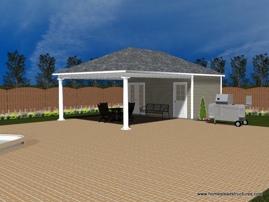 Pool House Designs Homestead Structures
