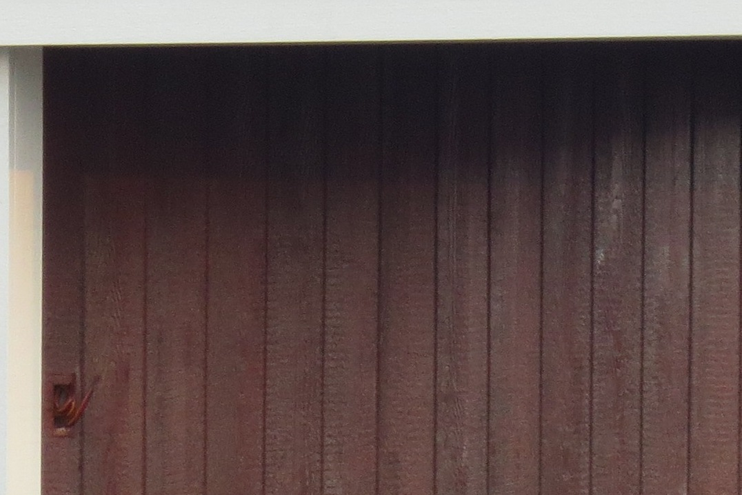 Stained D-temp Siding