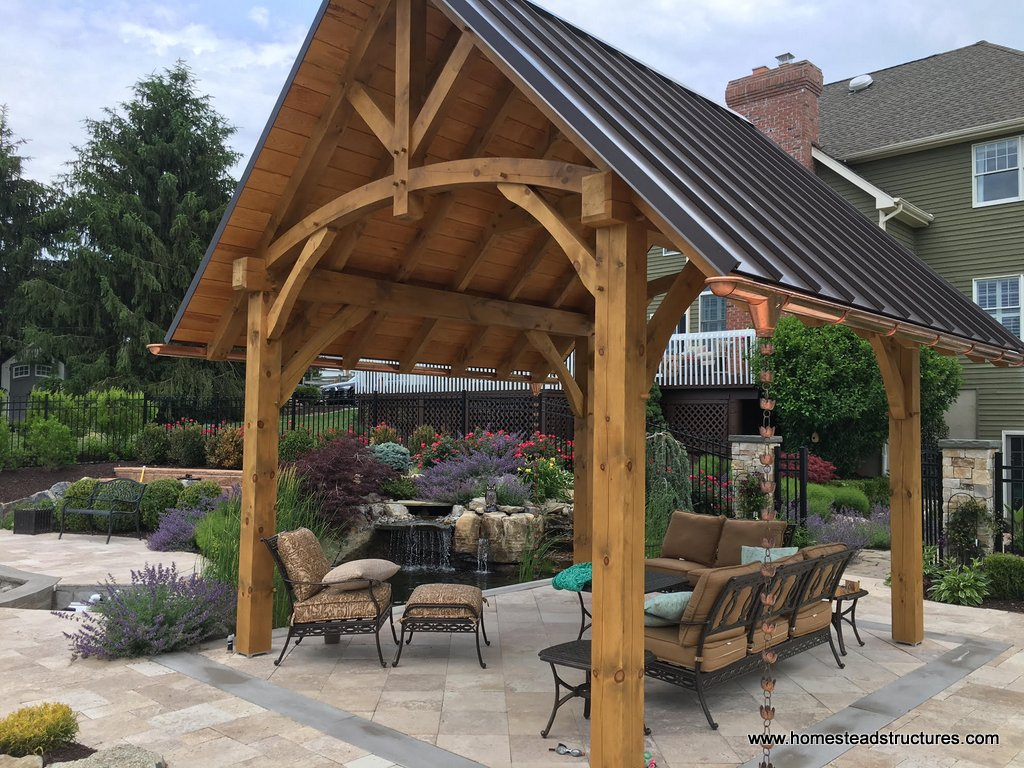 Wooden Pavilions Timber Frame Pavilions Homestead