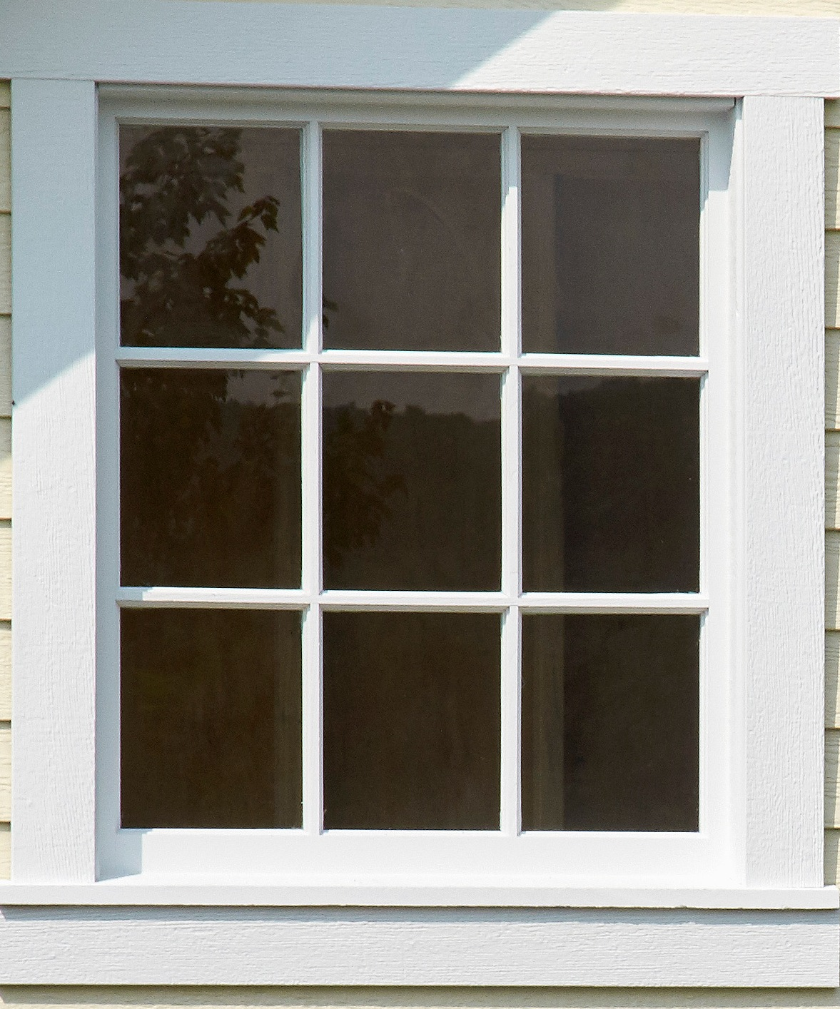 9 Lite Wood Window