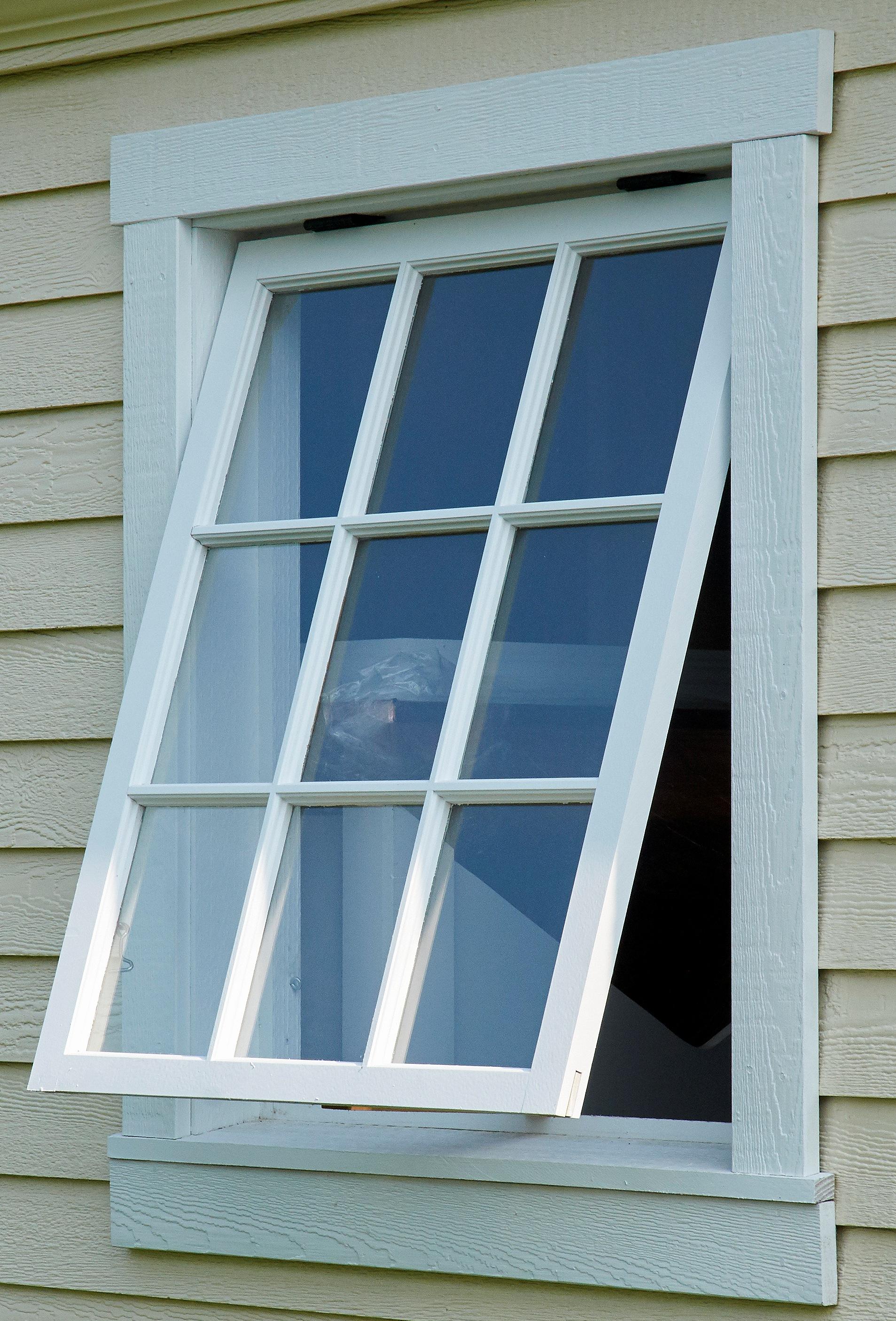 Wood Window Tiltout