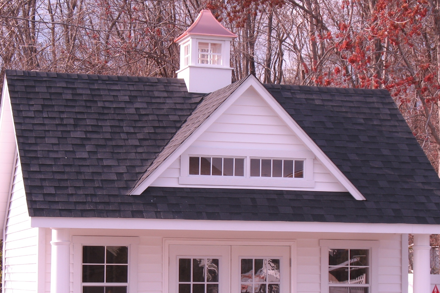 10' Windsor Dormer with 2 Transom Windows