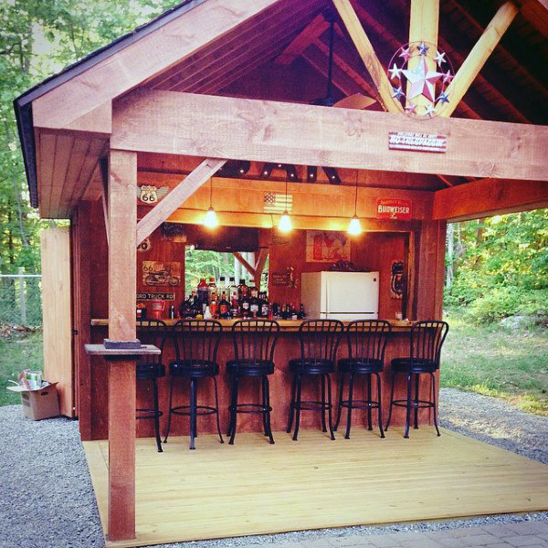 7 Gorgeous Examples Of Epic Bar Shed Ideas