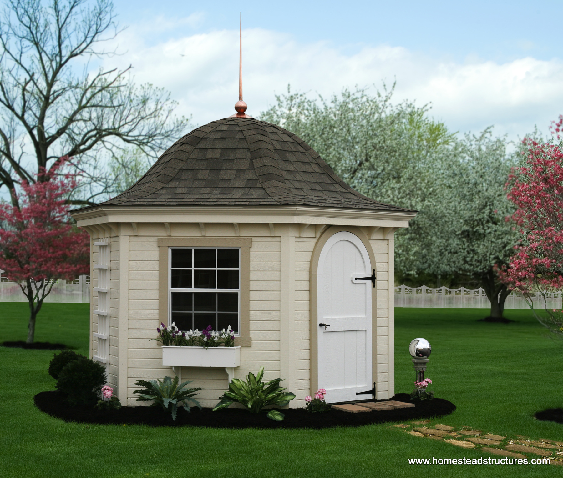 Homestead Gardens Landscaping: Premier Garden Sheds For Garden Storage