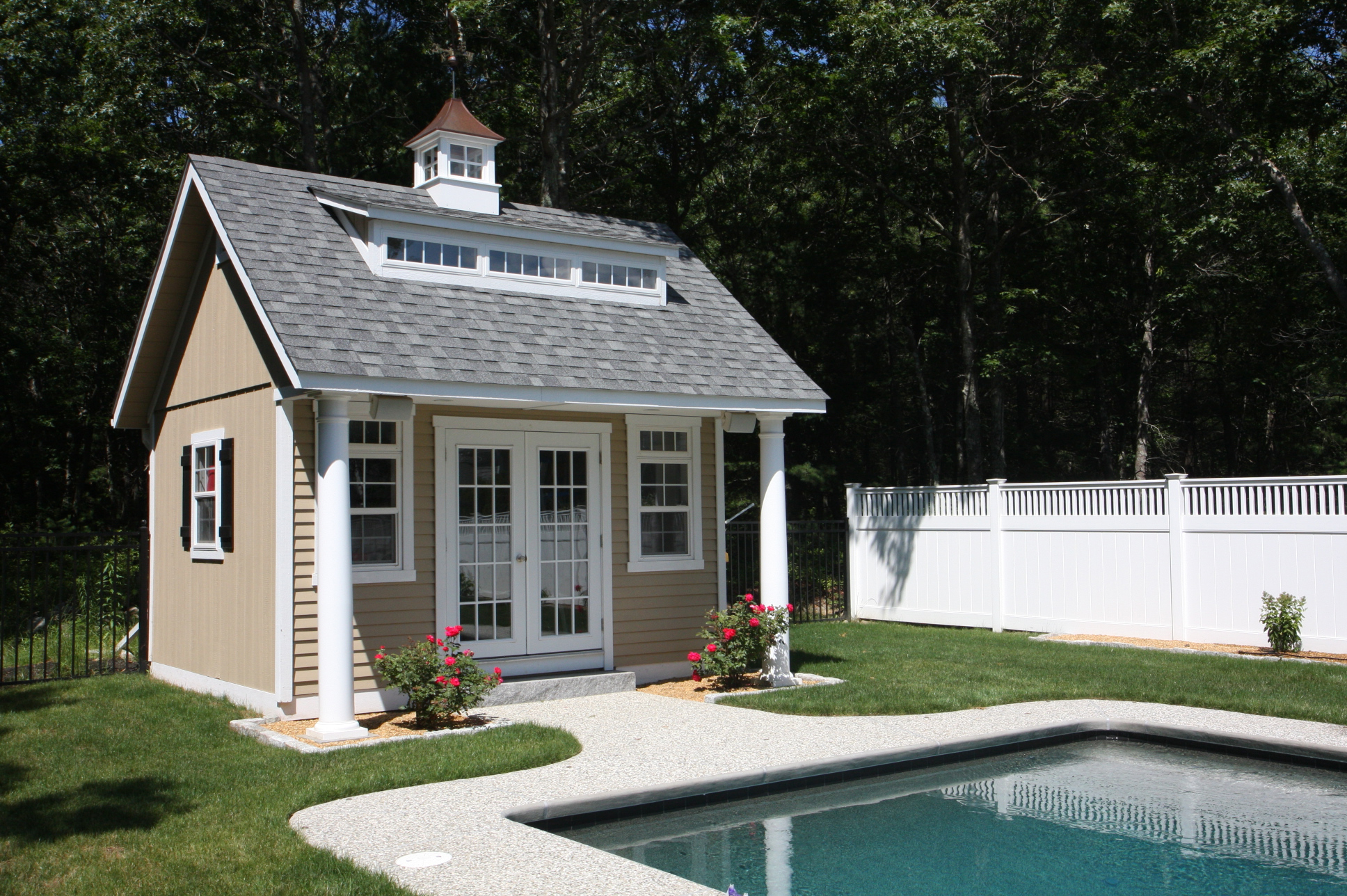 Pool Houses, Cabanas, Pool Sheds \u0026 Pool Side Bars | Homestead ...