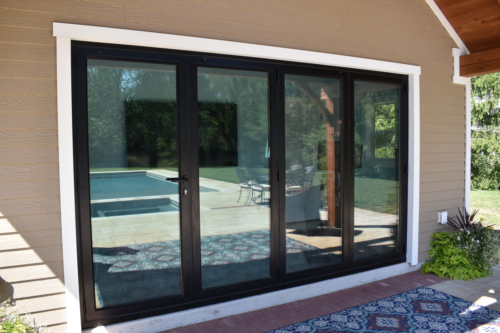 Black Origin Bi-Fold Doors