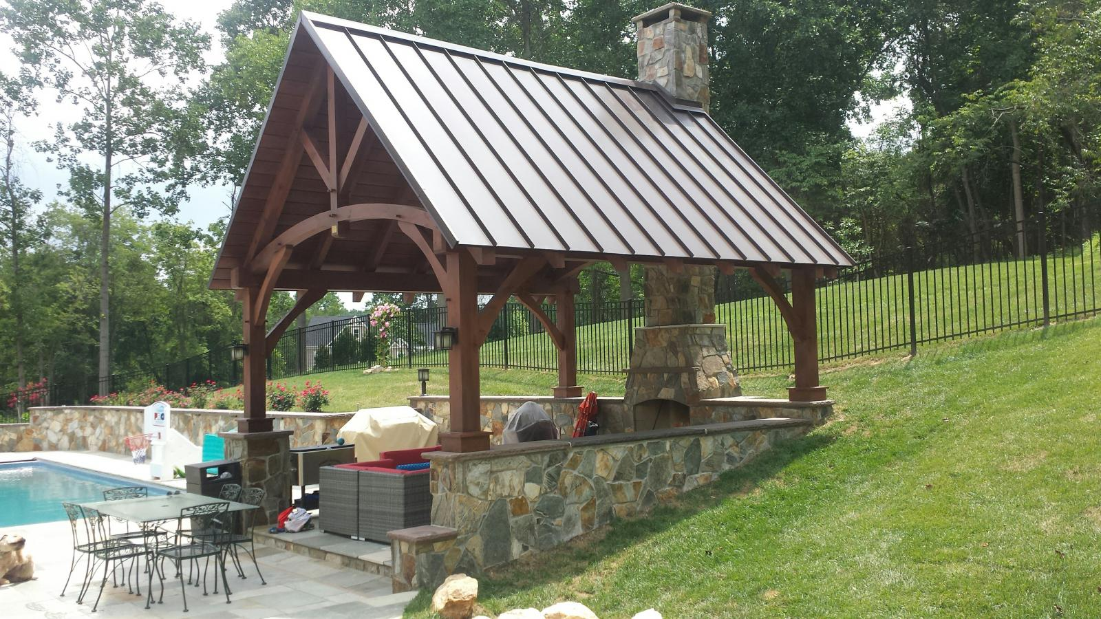 Timber Frame Pavilions Photos Homestead Structures