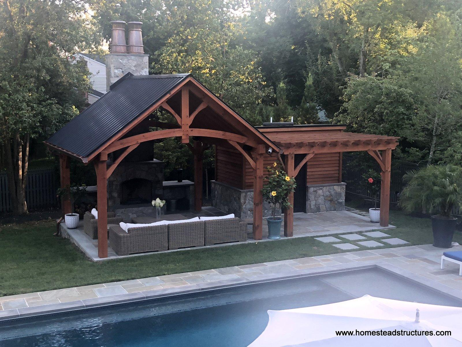Timber Frame Pavilions Homestead Structures
