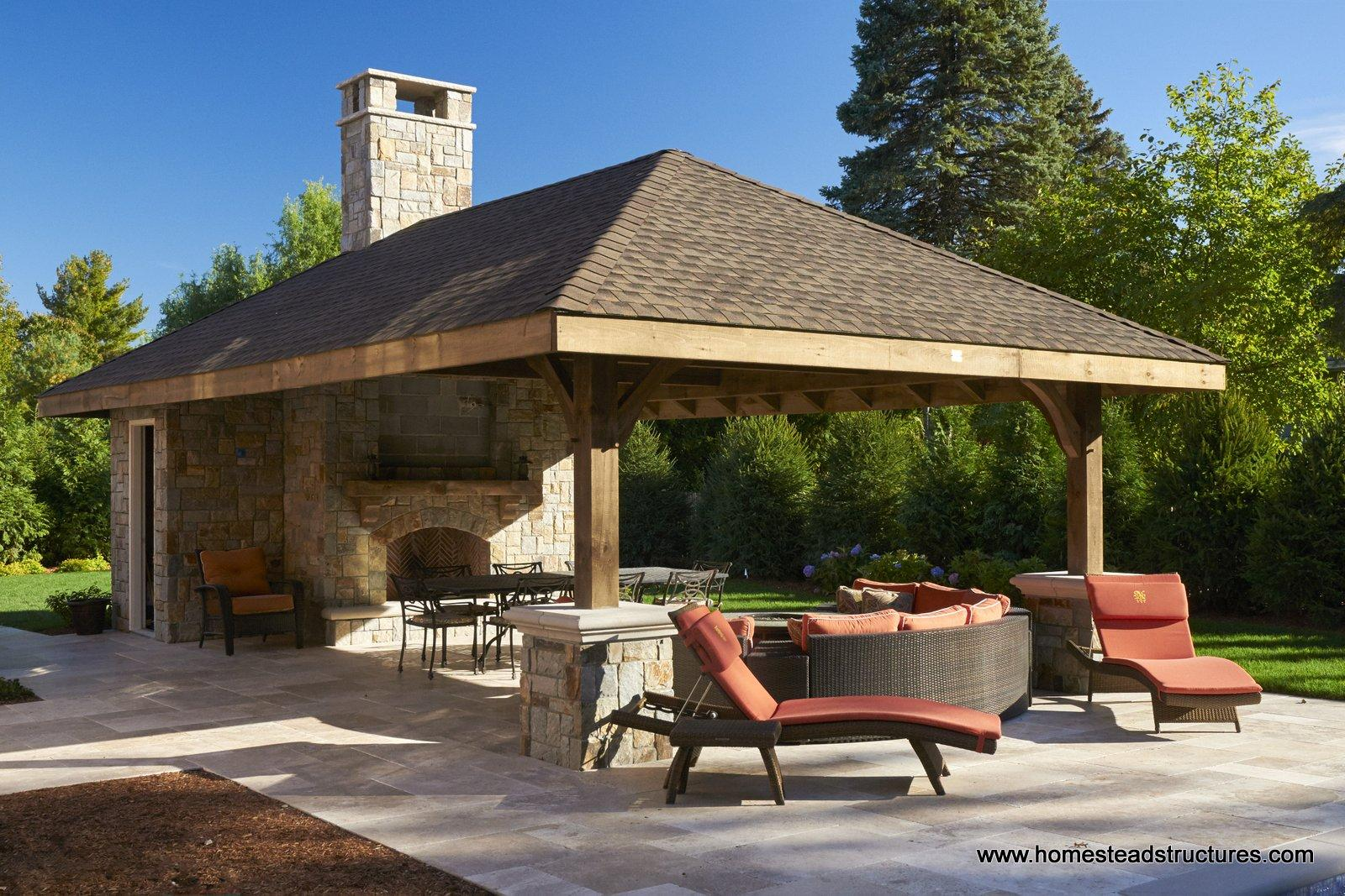 Timber Frame Pavilions | Photos | Homestead Structures