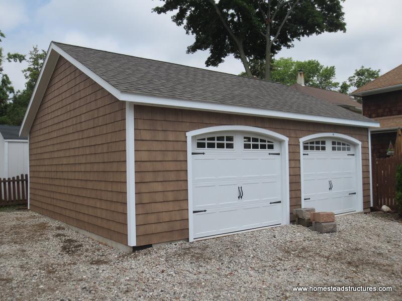2 car garages photos homestead structures. Black Bedroom Furniture Sets. Home Design Ideas