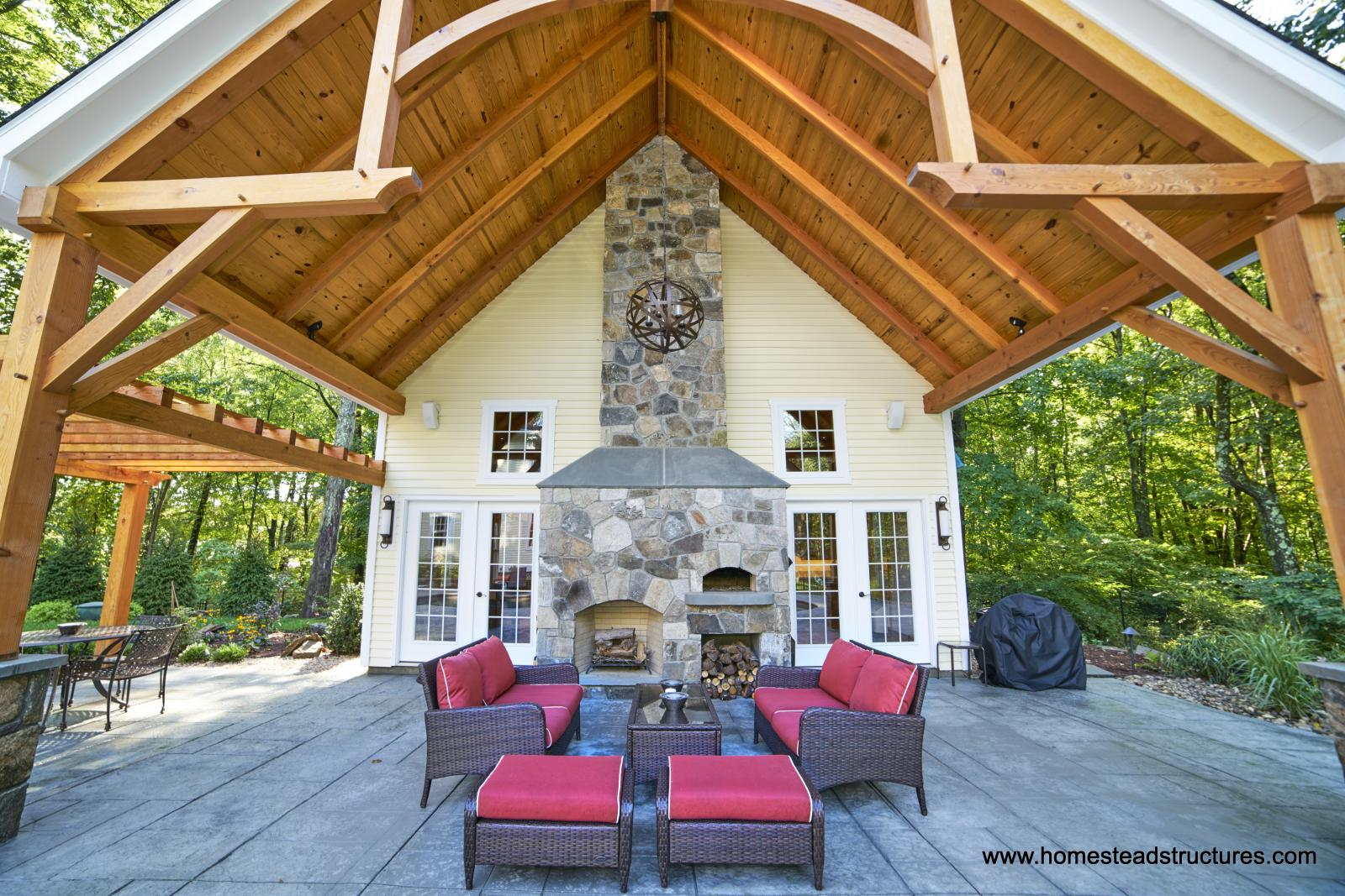 Custom Pool Houses | Homestead Structures