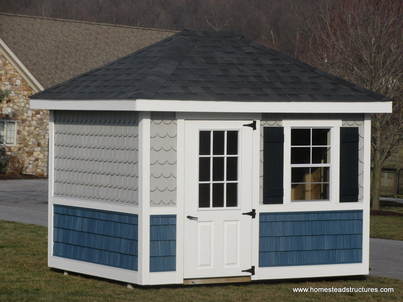 Hip Roof Sheds | Homestead Structures