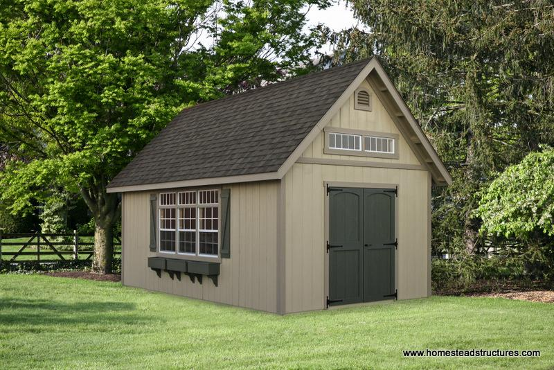 2 Story A-Frame Sheds | Photos | Homestead Structures