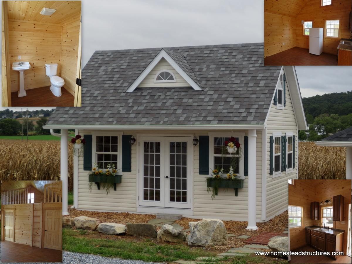 Currently in stock homestead structures for Pool house interior