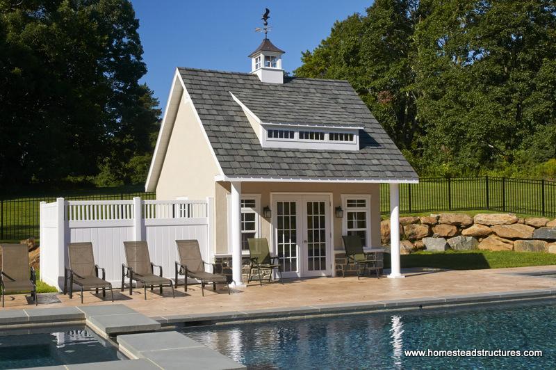 Heritage Pool House Exterior Shots Photos Homestead