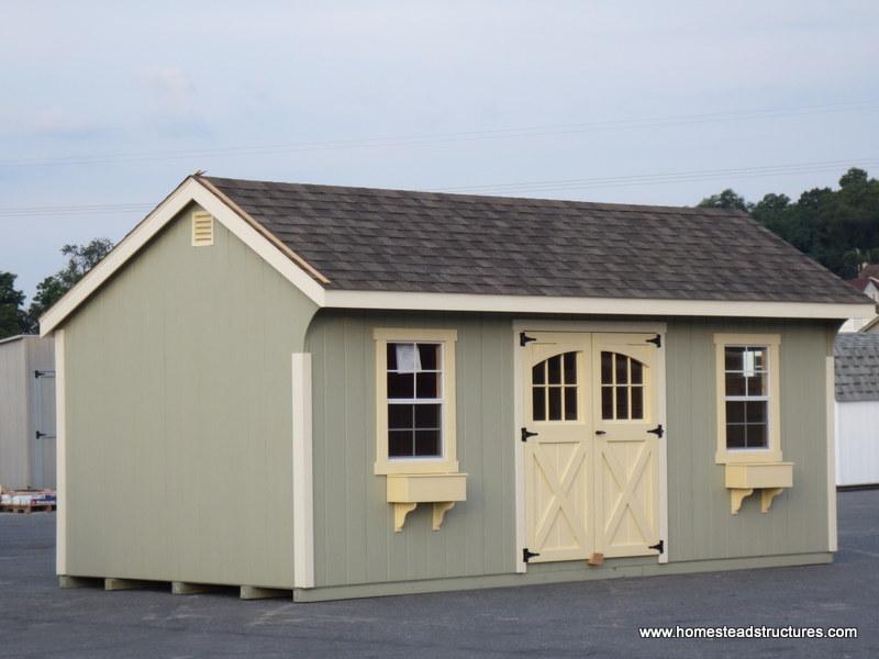 Quaker Barns Amp Carriage House Sheds Amish Built Photos