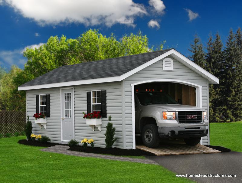 12 Car Garage 1 car garages | photos | homestead structures