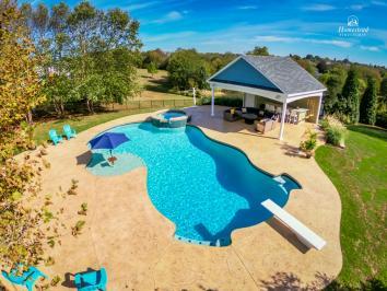 22x20 Avalon Pool House