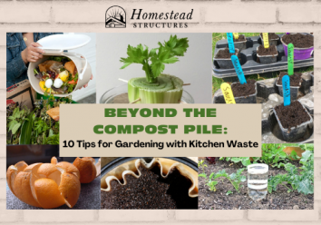 Beyond the Compost Pie: 10 Tips for Gardening with Kitchen Waste