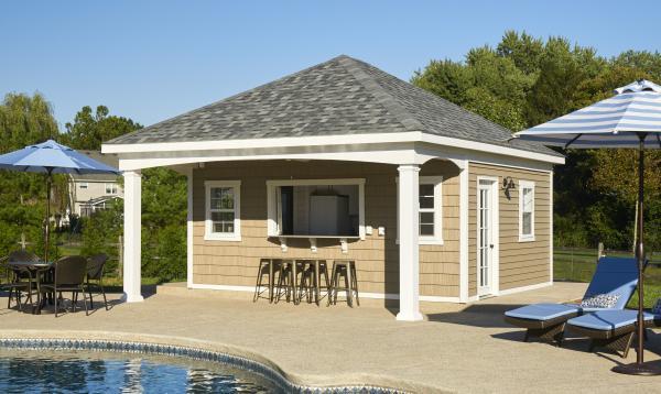 Custom Avalon Pool House