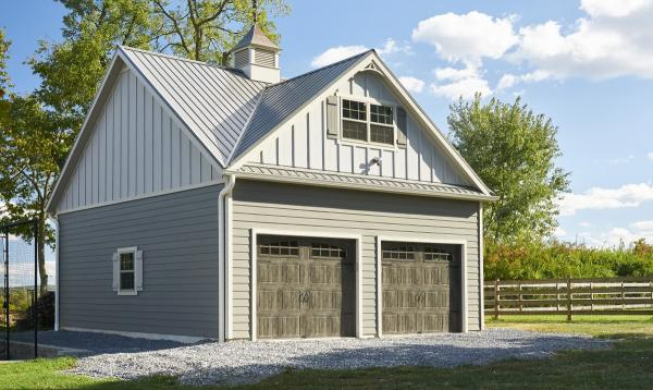 24' x 24' Classic 2-Car, 2-Story Garage in Middletown, MD