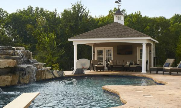18' x 26' Avalon Pool House & Pavilion