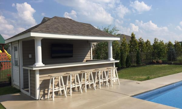 10' x 12' Siesta Poolside Bar & Cabana