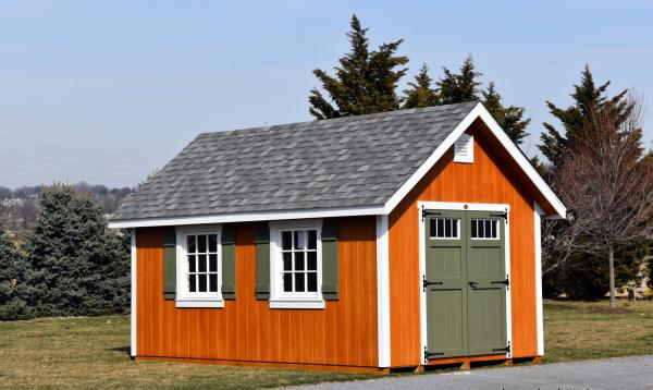 10' x 16' Classic A-Frame Shed with Loft