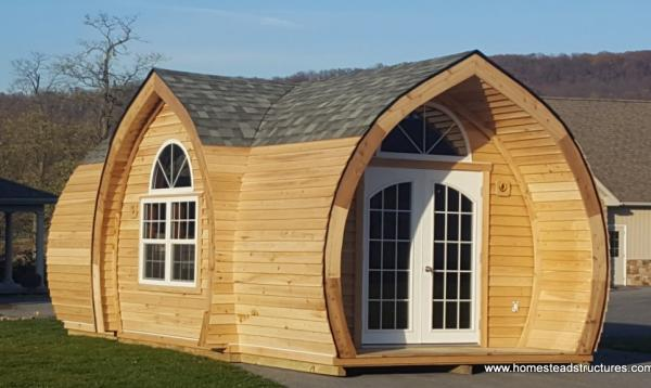 10.5' x 24 Custom Tiny Home - Hobbit House for Sweet Dreams